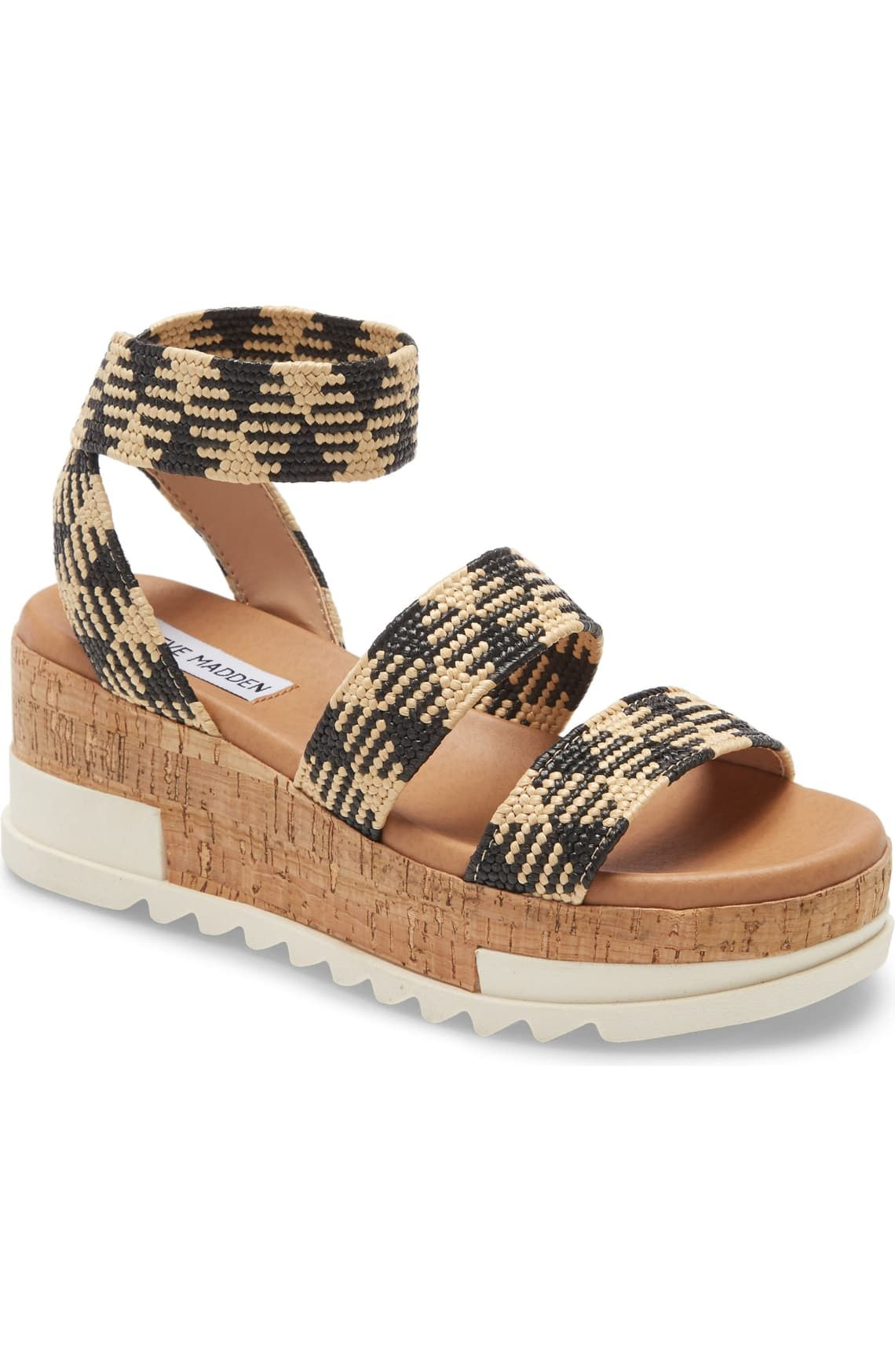Platform wedge sandals, Wedge sandals