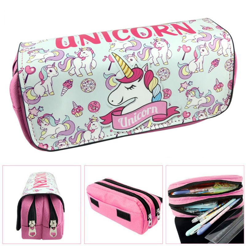 1PCS Cute Unicorn Pencil Case School