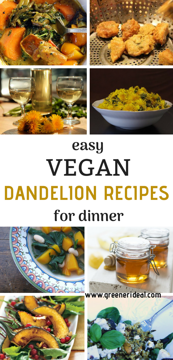 Dandelions For Dinner Simple Recipes Vegetarian Recipes