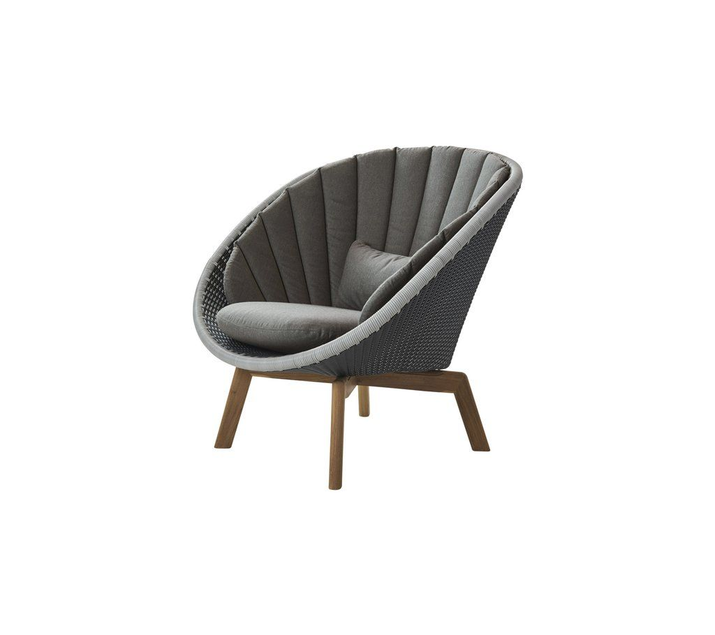 Peacock lounge chair caneline weave 5458 in 2020