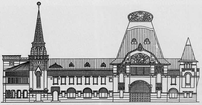 казань вокзал фасад - Поиск в Google | Фасад