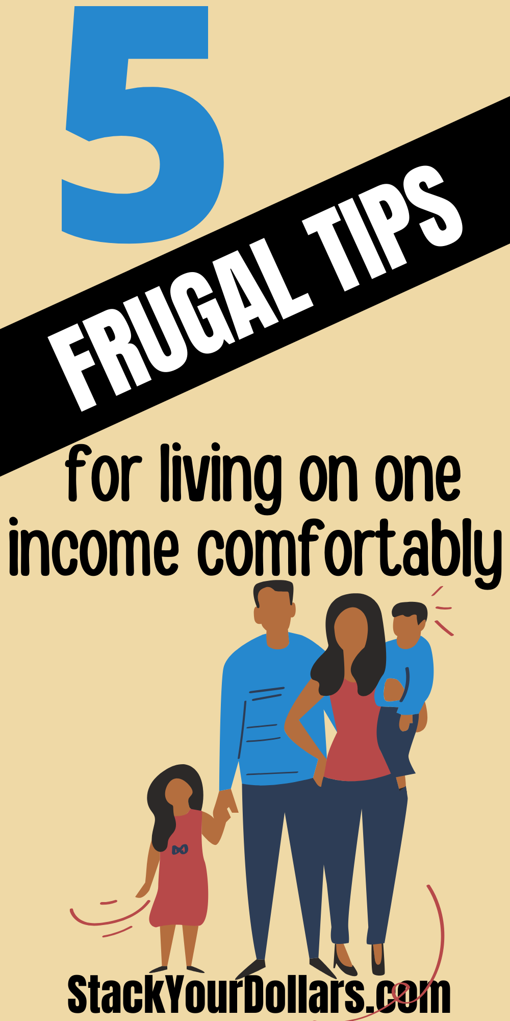 To live on one income as a family can be hard. These are some tips that can help you adjust to this style of life with your budget and allow you to live comfortably within your means. #StackYourDollars