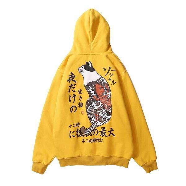 Cute Colorful Animal Cartoon Long Sleeve Hooded Sweatshirt Creative Vitality