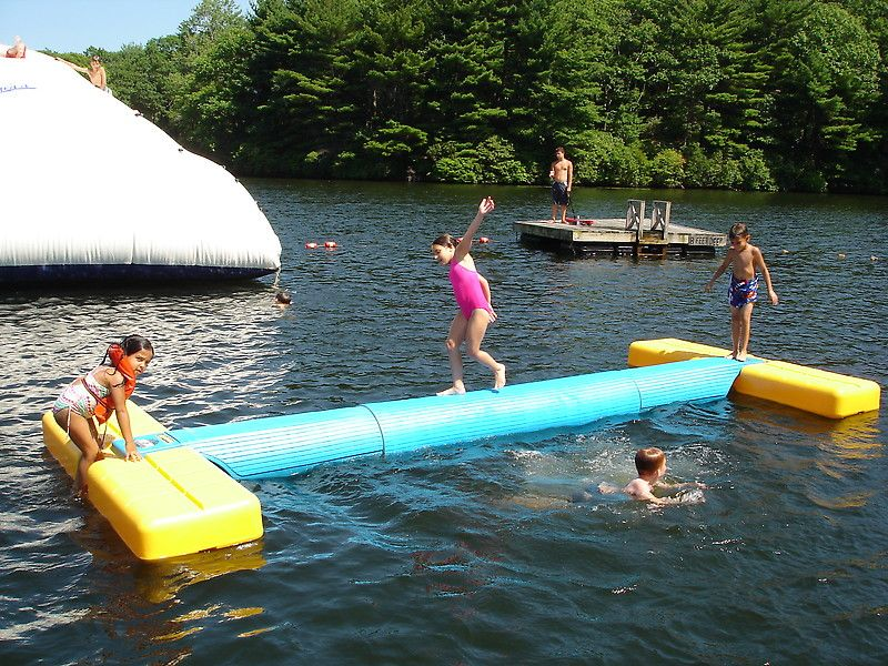 The lake is a fun place to practice your balance! | Summer ...
