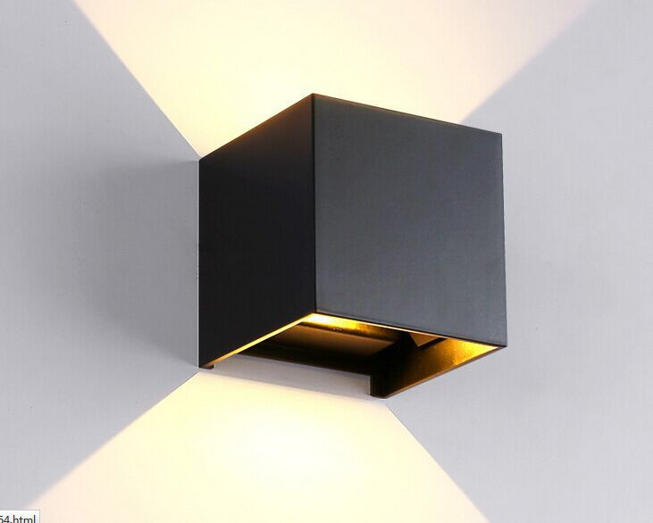 Vioslite Square Waterproof Outdoor Wall Lamp Sitting Room Hotel Cool Lamp Bedroom Inspiration