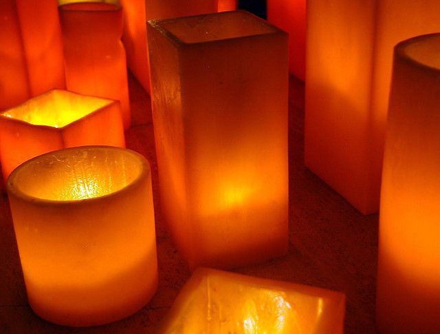 Resultado de imagen de orange candles