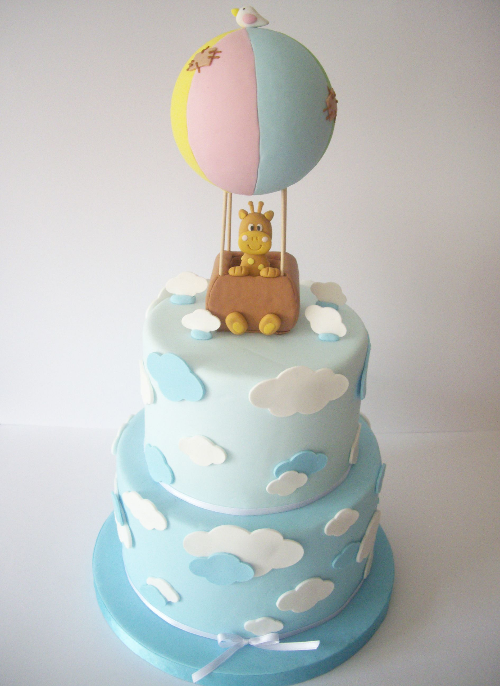 Cake Decorating Hot Air Balloon : My Giraffe in a Balloon Titi s Love Cake Pinterest ...