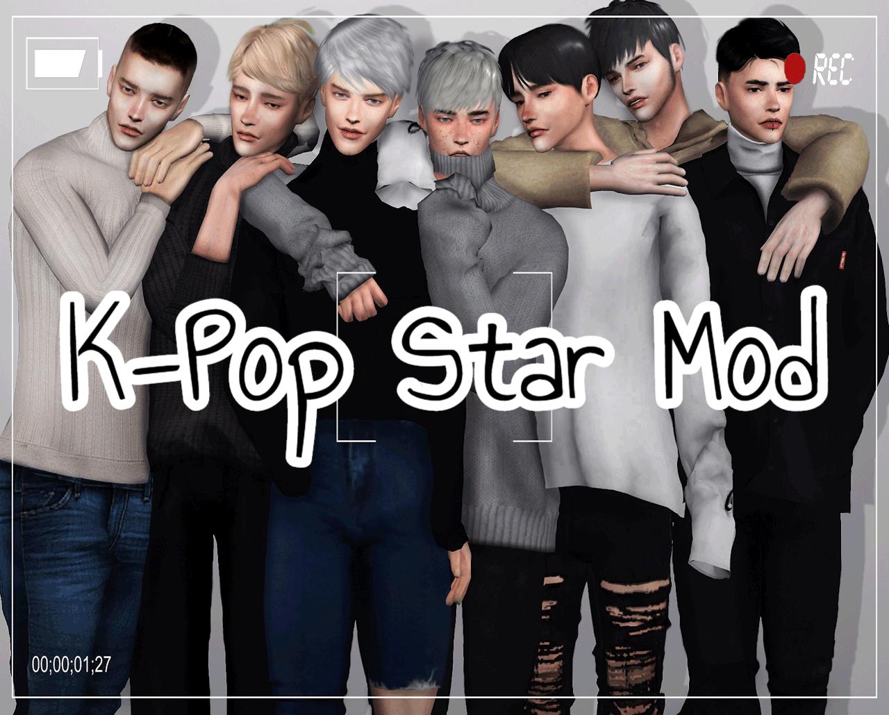 K Pop Star Mod Kawaiistacie Mods In 2020 K Pop Star Pop Star Sims 4
