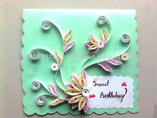 Paper quilling patterns for birthday cards awesome cutting designs greeting made also rh pinterest