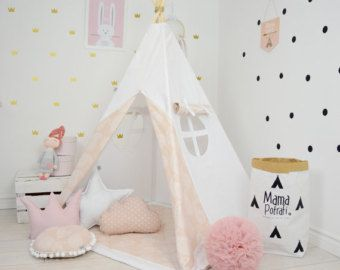 Childrens Tipi Toddler Teepee Tent Black Teepee Dotted Teepee Purple Tent Play Mat Reading L& Kids Wigwam Lavender Tent Tee Pee & Childrens Tipi Toddler Teepee Tent Black Teepee Dotted Teepee ...