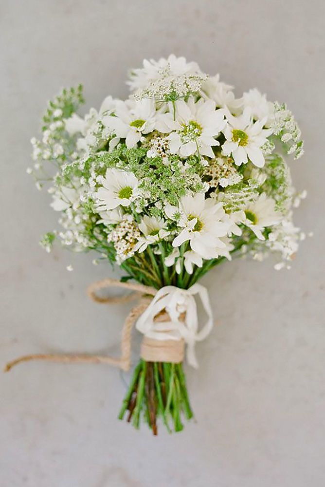 Wildflower Wedding Bouquets Not Just For The Country Wedding ❤ See ...