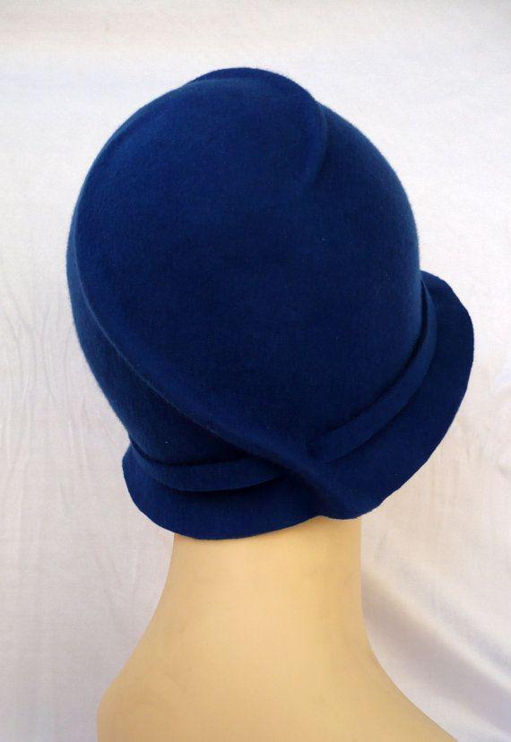 957689e935535 NUEVO Sombrero cloché Sombrero años 20 Sombrero vintage