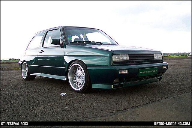 retro volkswagen Westside VW Golf Rallye Flickr