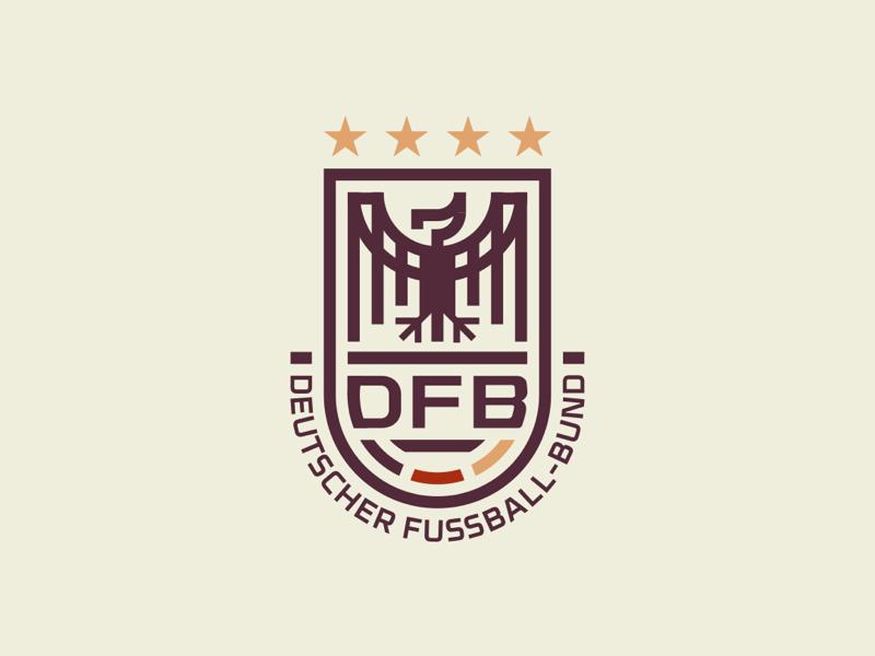 Dfb Redesign Team Logo Design Football Logo Design Soccer Logo