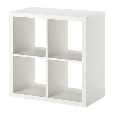 Bücherregal expedit  Details zu IKEA KALLAX Regal weiß (77 x 77cm) Kompatibel mit ...