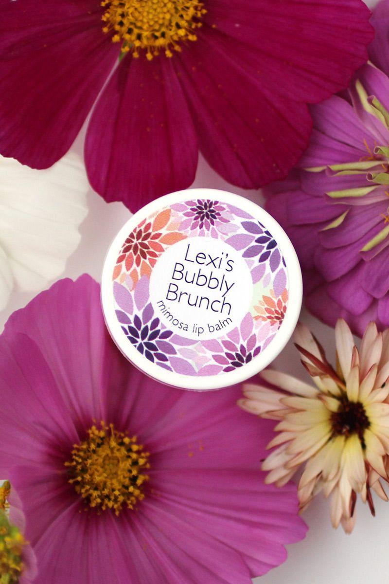 Autumn Lip Balm + Custom Labels | Favors, Bridal showers and Bridal ...