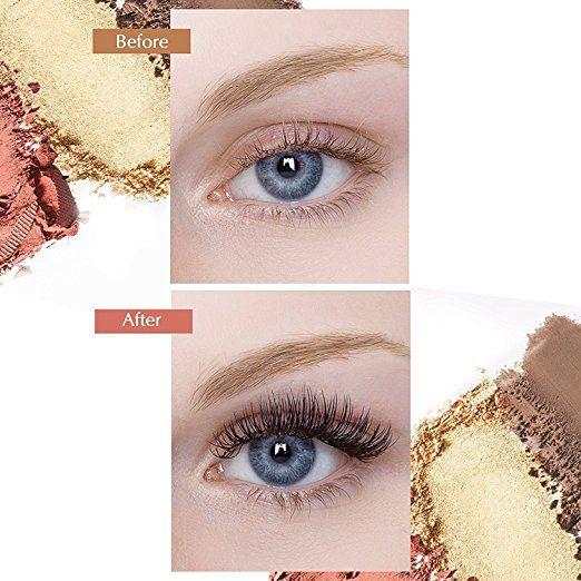 291e151d11f Amazon.com: Magnetic Eyelashes Dual Magnet Glue-free 3D Reusable Full Size  Premium Quality Natural Look Best False Lashes(4 Pieces): Beauty ad