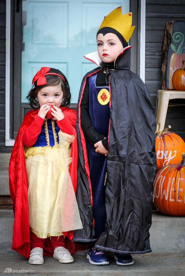 Snow White & Queen Kids Halloween Costumes