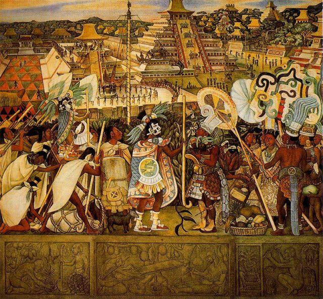Diego Rivera Cultura Totonaca Mexico Prehispanico Y Colonial Diego