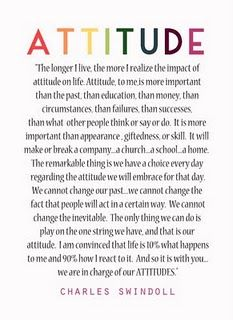 Attitude My Dad Gave This Poem To Me When I Was A Teenager It