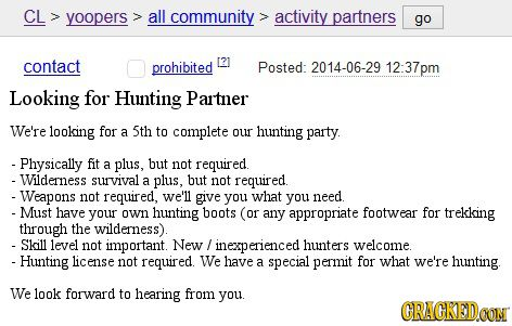 Craigslist Dating tips