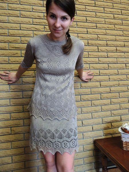 осинка шетланд платья ручное вязание и вязание