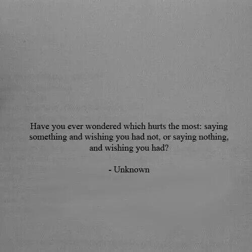 Vous etes-vous déjà demandé lequel fait le plus mal ?