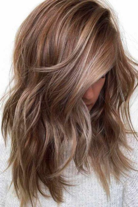 62 Pretty Colors And Fall Hair Highlights Ideas Fall Hair Highlights