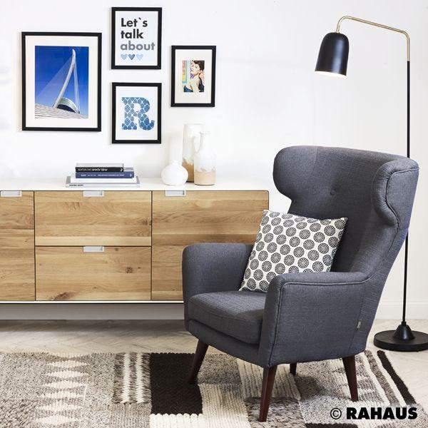 scandic style sessel ohrensessel stehleuchte kommode. Black Bedroom Furniture Sets. Home Design Ideas