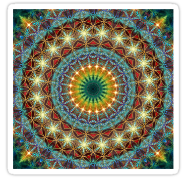 Beautiful Pattern Kaleidoscope 01 by fantasytripp