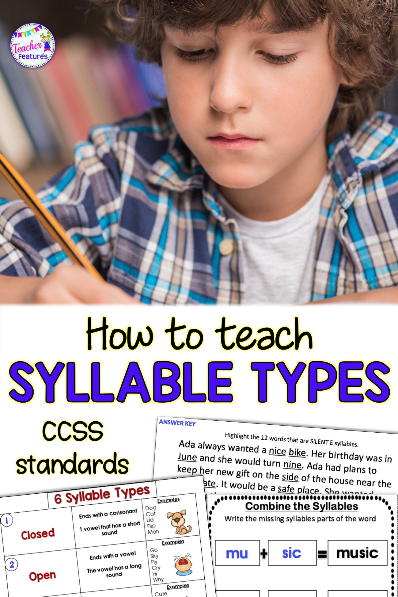 Distance Learning Syllable Types Amp Multisyllabic Words