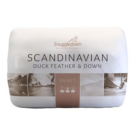 Snuggledown Scandinavian Duck Feather Down 13 5 Tog King Duvet Branding Design Scandinavian Packaging Design