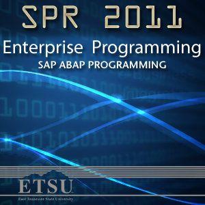Enterprise Programming – SAP ABAP Programming - Dr....: Enterprise Programming – SAP ABAP Programming - Dr. … #ComputerScience