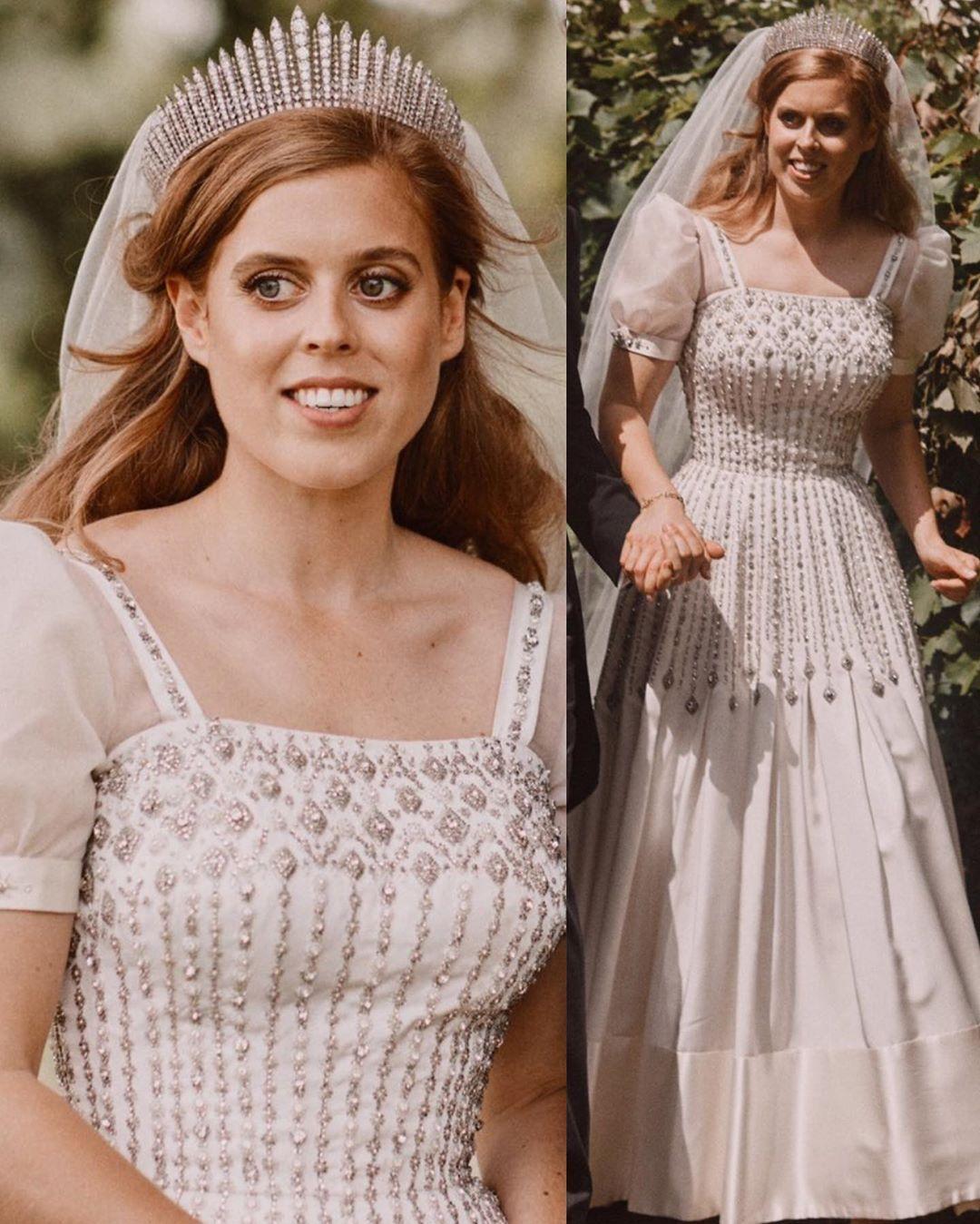 Royal Families Of Europe Heeft Iets Geplaatst Op Instagram Do You Like Her Wedding Dress Royal Wedding Gowns Princess Beatrice Wedding Royal Brides [ 1349 x 1080 Pixel ]