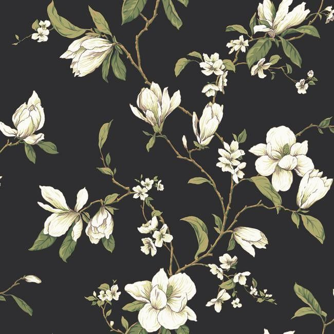 Dogwood Tree Floral Blooms Wallpaper Ashford House York Wallcoverings GE9550
