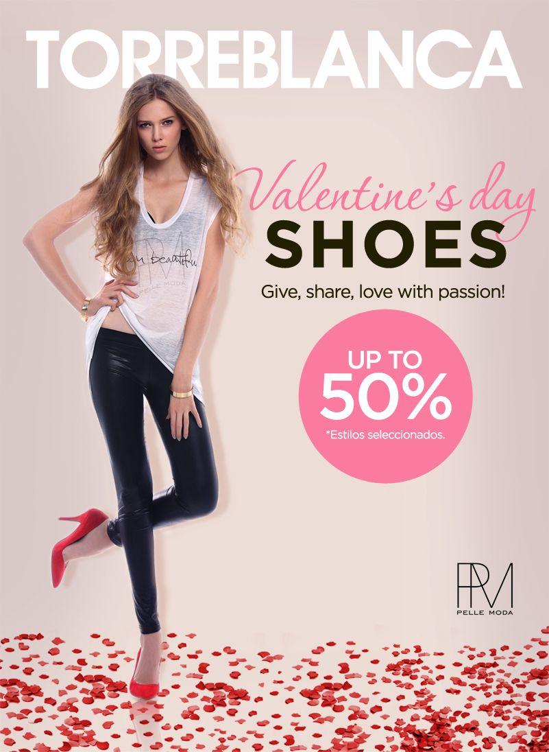 low priced f27d5 5f60c Celebra este San Valentín con super promociones!  torreblanca  guatemala   fashion  valentinesday  zapatos  estilo  moda