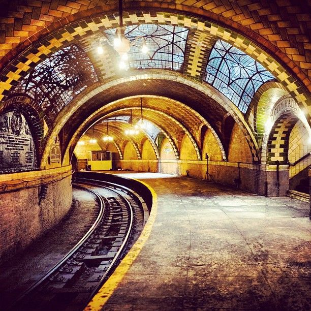 A Hidden Gem: The Secret City Hall Subway Station. See