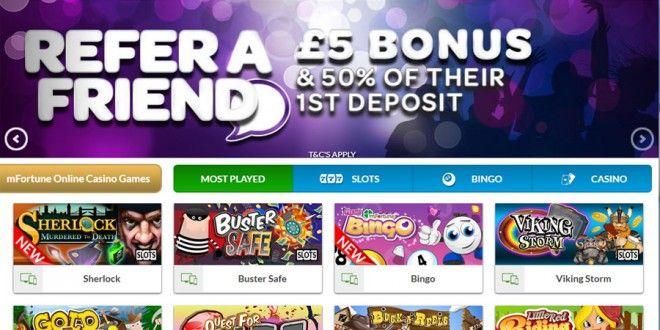 £5 No Deposit Mobile Casino