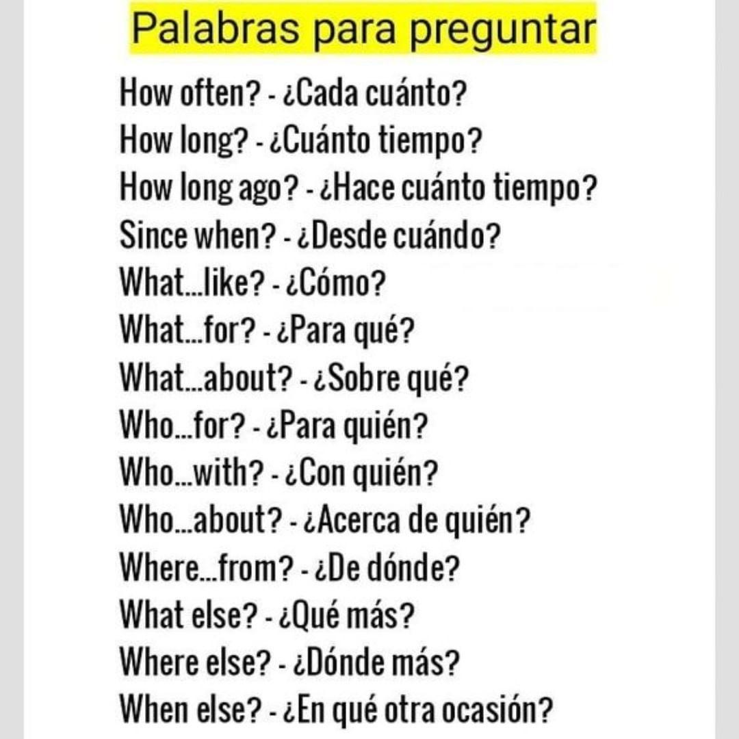 "Inglés   Básico A Avanzado On Instagram: ""te Gustó Deja"