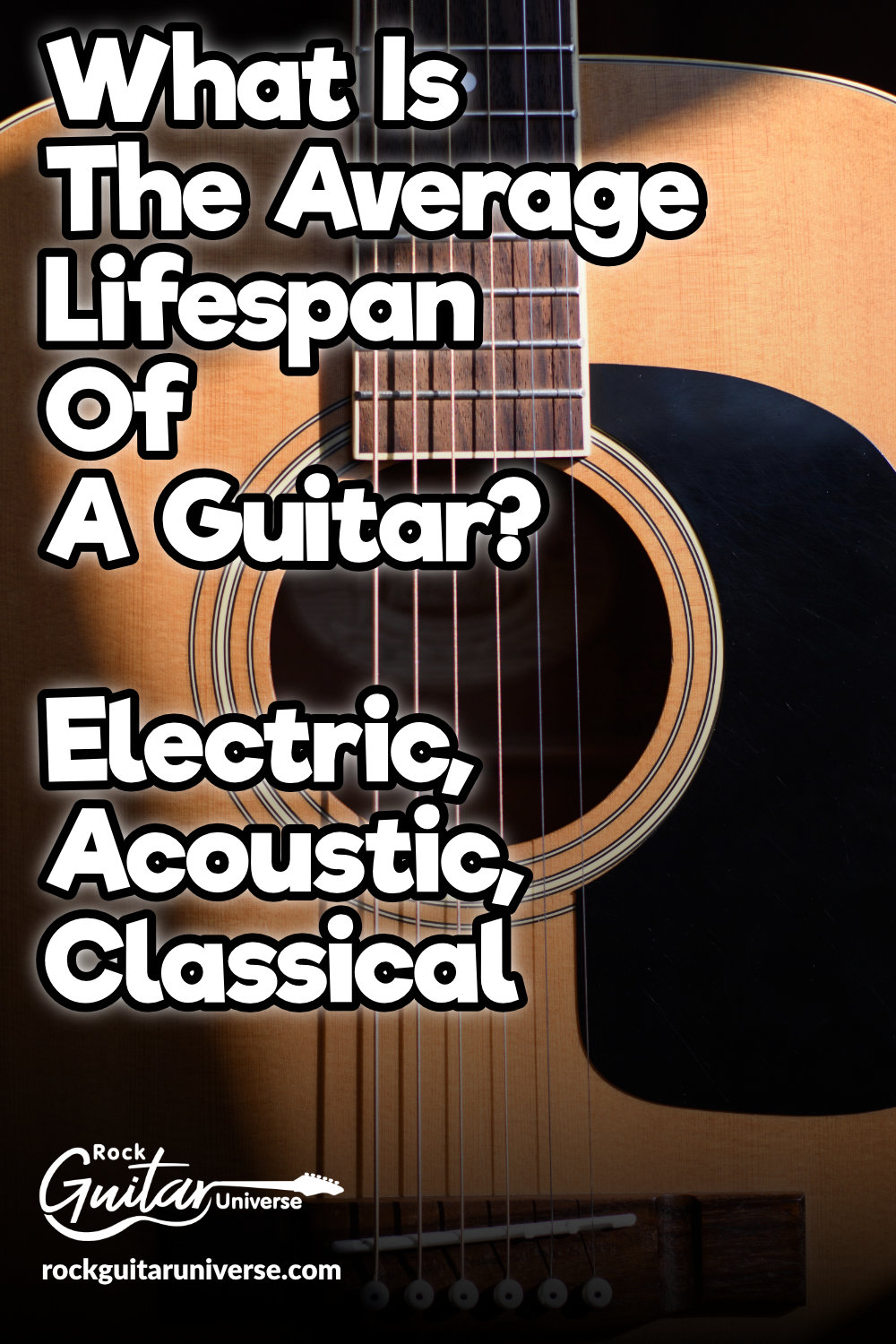 What Is The Average Lifespan Of A Guitar Guitar Guitar Lessons Songs Acoustic