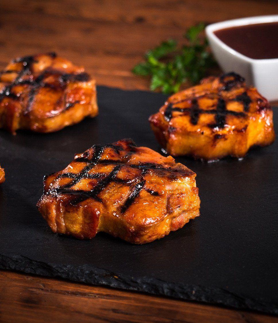 Baconwrapped filet mignon charbroil recipe pork