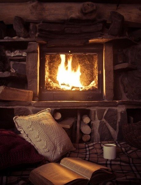 Fireplace Cold Weather Hacks Books Winter Cozy