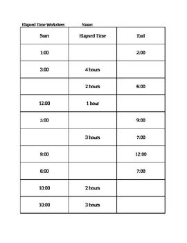 Time Worksheets : elapsed time worksheets 5th grade Elapsed Time ...
