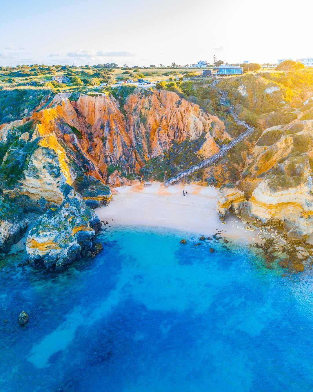 Praia Do Camilo 225 Steps To Paradise Kevmrc Com Cool Places To Visit Algarve Portugal Prettiest Beach