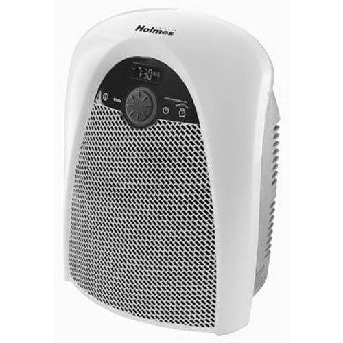 Holmes Digital Bathroom Heater Fan with Pre-Heat Timer and Max Heat