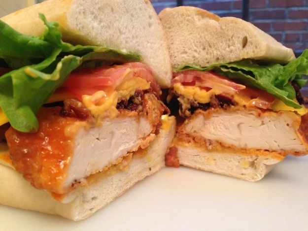 How to make an insanely delicious buffalo chicken sandwich for Buffalo chicken sandwich recipe grilled