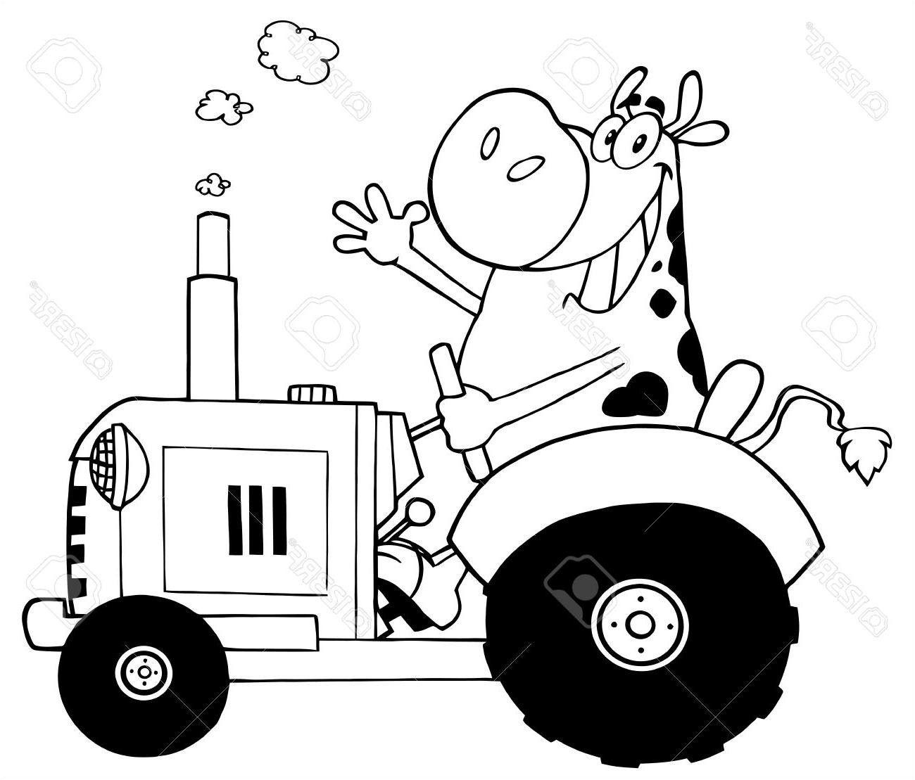 Dessin Tracteur Facile