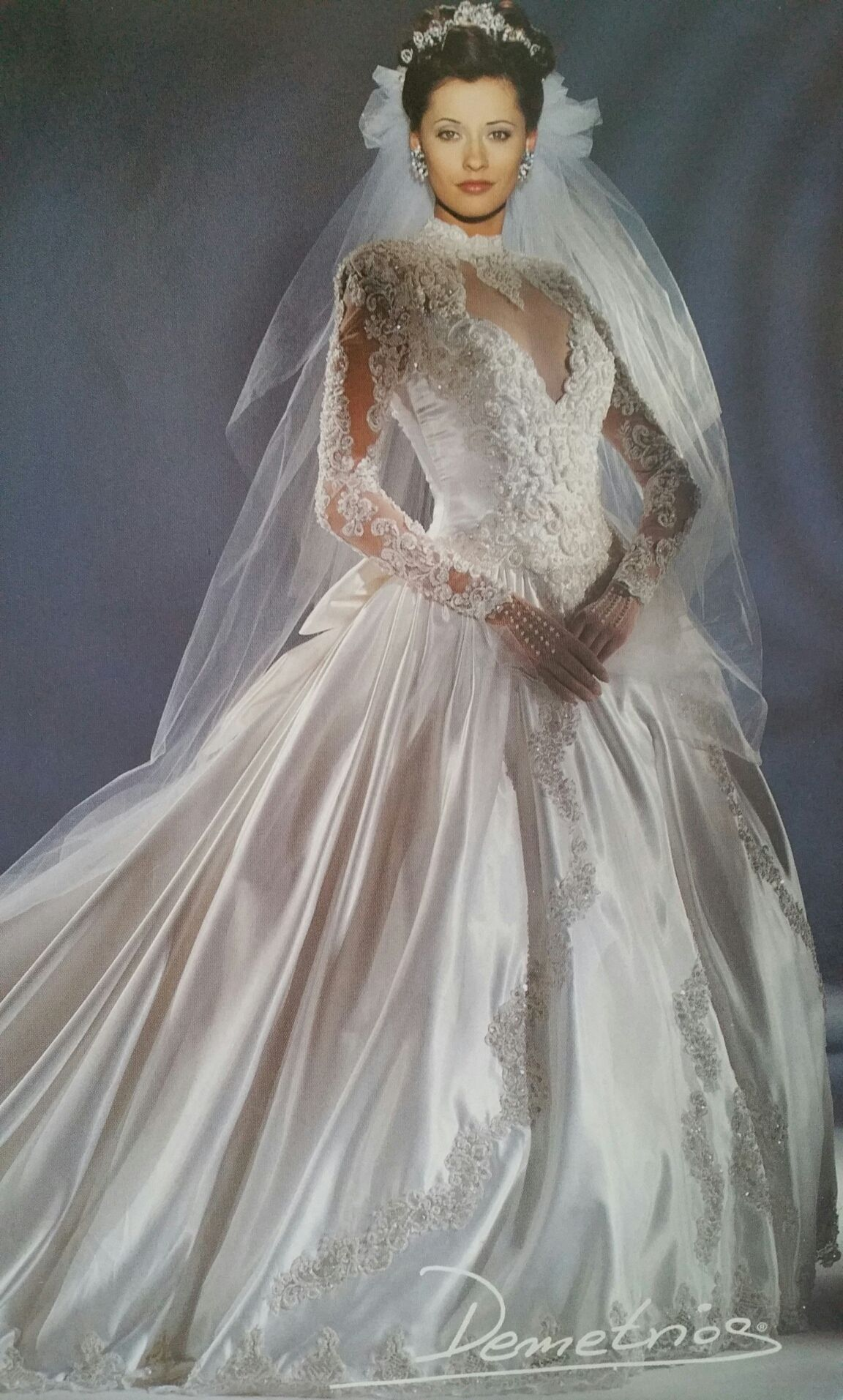 Demetrios 6-8, $250 Size: 8 | Used Wedding Dresses | Finals, Wedding ...