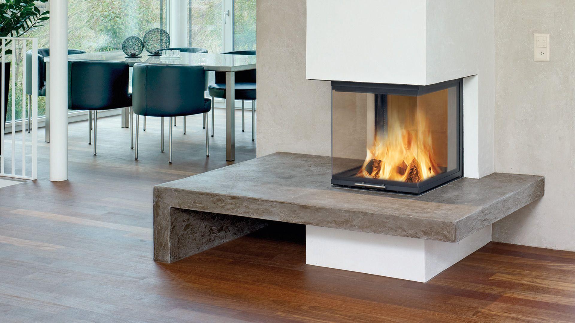 Moderne Feuerstelle Der Heizkamin Heizkamin Kamin Wohnzimmer Kamin Modern