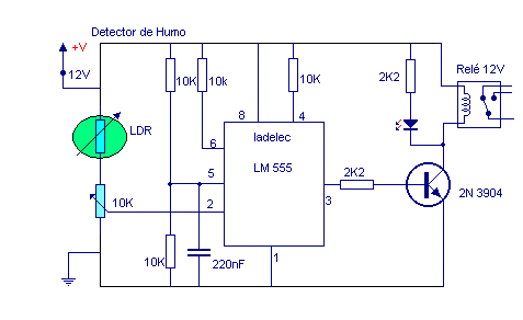 Detector De Humo Ladelec Diagrama De Circuito Electrico Humo Divisor De Voltaje
